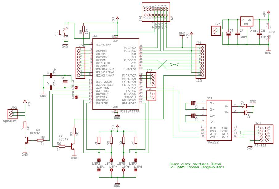 Digital alarm clock using PIC - 30 April 2012 - Circuits